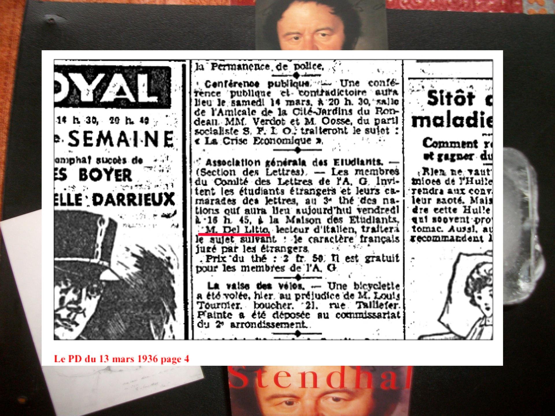 1 article 13 mars 1936 petit dauphinois t